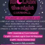 Reclaim the Night Cornwall