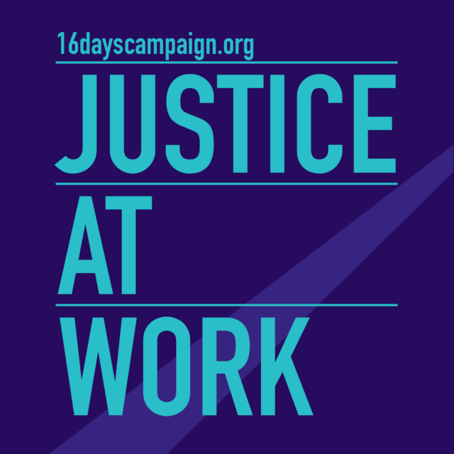 Dignity and Equality for Women Every Day | 16 Days Campaign