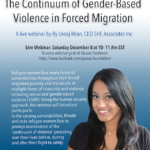 Live Webinar:The Continuum of Gender-Based Violence in Forced Migration