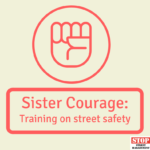 Sister Courage: Training on street safety 1