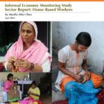 WIEGO | Informal Economy Monitoring Study Sector Report: Home-Based Workers