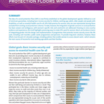 UN Women: Making national social protection floors work for women