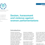Sexism, harassment and violence against women parliamentarians (2016)