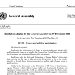 General Assembly Resolution 66/130,