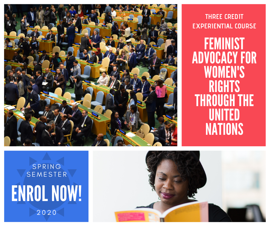 Rutgers Summer Courses 2020.A Rutgers Course Feminist Advocacy For Women S Rights