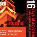 16 Days of Activism Launch and Public Vigil
