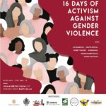 16 Days Of Activism Against gender Violence Nov25 - Dec10