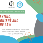 Sexting, Consent and the Law